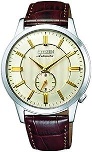 سيتيزن ساعة رسمية للرجال انالوج بعقارب جلد - NK5000-12P