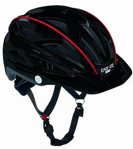 CASCO Active-TC schwarz Life Reflektor Fahrradhelm Helm Bike Cityhelm Trekking City, 16.04.0802, Größe S/M 52 - 58 cm
