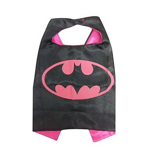 KeepworthSourcing, 55 x 70 cm, Motiv Superhero Regenmäntel für Kinder Party Kinder Gifts Batgirl