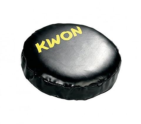 KWON Coaching Mitt rund, schwarz