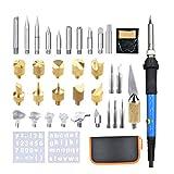 SUPVOX Holzofen Kit 37 STÜCKE Pyrography Pen Kit Eisen Holz