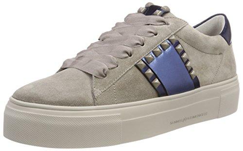 Kennel und Schmenger Damen Big Sneaker, Beige (Ombra/Blau/Ocean Sohle Creme 264), 38.5 EU
