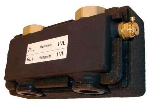 Hydraulische Weiche HW 60/80, 2 m3/h, 20 kw