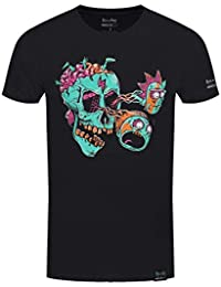 Plastic Head Rick and Morty X Absolute Cult Eyeball S, Camiseta para Hombre
