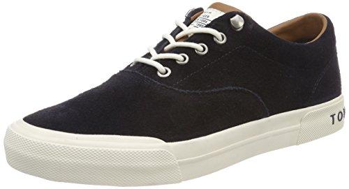 Tommy Hilfiger Herren Heritage Suede Sneaker, Blau (Midnight 403), 42 EU