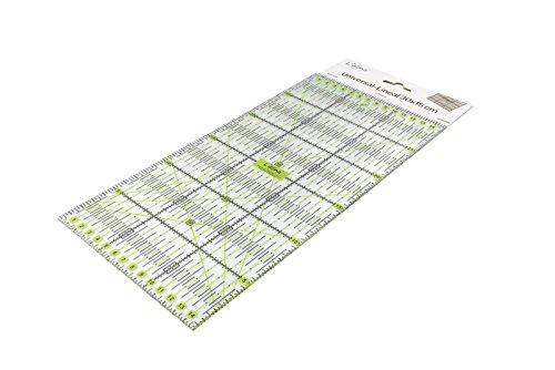 comprare on line Lialina® Righello Universale in Plastica per Patchwork, Sartoria, Fai da Te, Qualting Trasparente 15×30 cm