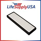LifeSupplyUSA LifeSupplyUSA 3 Pack HEPA Filter fits Alen TF60 and T500 Air Purifier