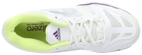 adidas Performance - Adizero Crazy, Scarpe da pallavolo Donna Bianco (Weiß (Running White FTW/Tech Grey Metallic S14/Tribe Purple S14))