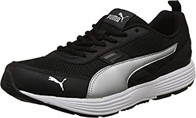 Puma Men's Black Silver Sandals-10 UK/India (44.5 EU) (4060979212046)