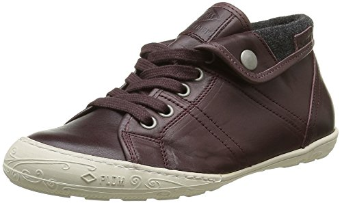 PLDM by Palladium Gaetane Ibx, Baskets Hautes Femme Rouge (024 Bordo)