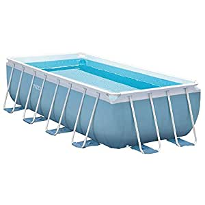 Intex 28316fr kit de piscine tubulaire rectangulaire for Piscine intex amazon
