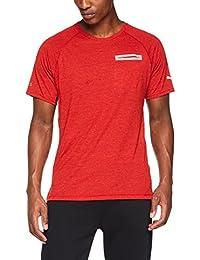 Puma Energy S/S tee Camiseta, Hombre, Rojo (Flame Scarlet Heather)
