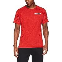 Puma Energy S/S tee Camiseta, Hombre, Rojo (Flame Scarlet Heather), L
