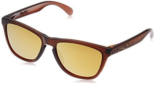 Oakley Herren 0Oo Frogskins (A) 924504 54 Sonnenbrille, Braun (Matte Rootbeer)