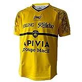 HUNGARIA Maillot Rugby La Rochelle extérieur Enfant 19-20 - Jaune, 10 Ans