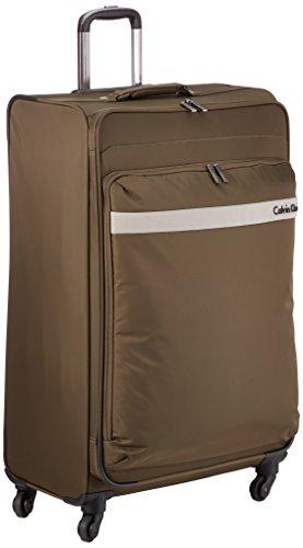 Calvin Klein  Trolley para portátiles, 74 cm, 110 L, Marrón