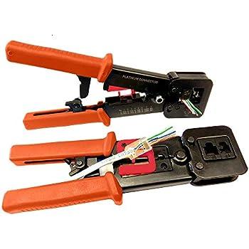 Accessoires dordinateurs Pince /à sertir Nuzamas IDC-214/ Pour c/âble-ruban plat et connecteurs auto-d/énudants 240 mm