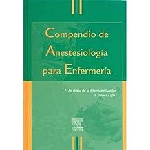 Compendio anestesiologia para enfermeria