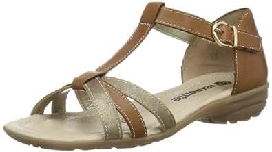 REMONTE R366624 femmes Sandales - Marron - Braun (oro/muskat 24), 45 EU