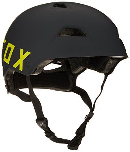 Fox Herren Flight Eyecon Helm, Black/Yellow, L