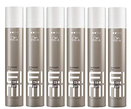 6er Dynamic Fix 45 Seconds Styler Wella Profesionals EIMI Styler Modellier Haar Spray 500 ml -