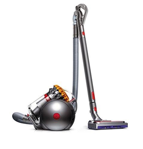 Dyson Big Ball Multifloor 2 beutelloser Staubsauger für alle Bodenbeläge / Inkl. pneumatischer Bodendüse, Kombi-Treppendüse / Konstante Saugkraft dank extra starker Zyklon-Technologie