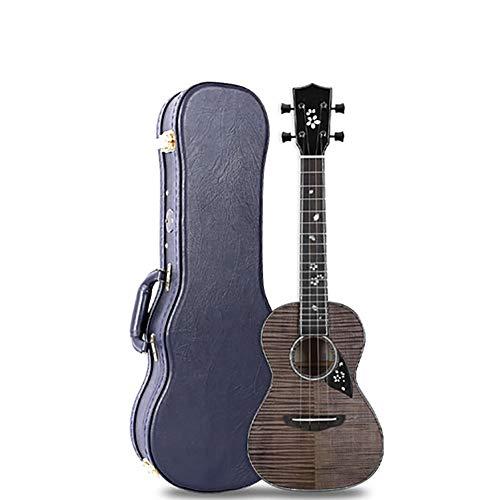 QING.MUSIC Stringed instrument Ukulele Top Ahorn Holz Geeignet für Musik-Künstler Konzert High-End-Gitarre 23 Zoll,Electricbox
