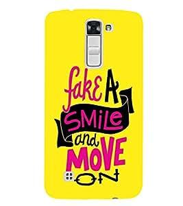 EPICCASE Fake Smile Mobile Back Case Cover For LG K7 (Designer Case)