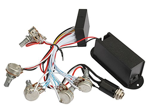 SaySure - 3 Band EQ Preamp Circuit For Bass Pickup Active - Pickup Tool Kit