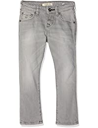 Scotch & Soda Shrunk Strummer-Grey Crater, Jeans Garçon