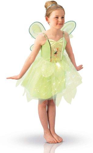 Rubie's - I-883766 - Costume - Disney Fairies Light up - Jupe avec Fibres Optiques