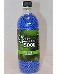 Umarex 2.5671 Combat Zone Basic Selection - Munición de aire comprimido (5000 unidades), color azul