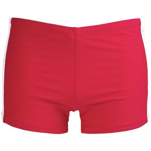 Chiemsee 14072Mélange–101Short de bain pour homme Kevin massif - Rouge