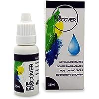 EYE DISCOVER Gotas Hidratantes para Ojos con Ácido Hialurónico, Lágrima Artificial para Ojo Seco - 15 ml