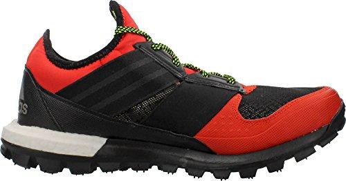 Scarpe response tr boost thunder m Rosso Nero 15/16 Adidas Solar Red/Black/Solar Yellow - Reflective