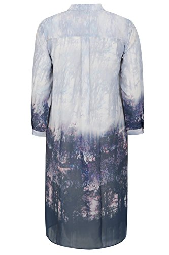 Yours Clothing - Chemisier - Femme Bleu