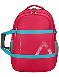 VIP Aristocrat Zylo1 Fabric with PU Coating 36 L Red Backpack