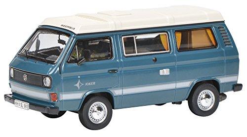 Schuco 'Dickie 450347600Volkswagen t3a Joker Camping Front 1: 43Vehículo