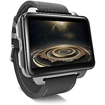 Reloj Inteligente para teléfonos Android, LEMFO LEM4 Pro Reloj Inteligente Android Soporte para teléfono Tarjeta SIM GPS MP4 Bluetooth WiFi Reloj ...
