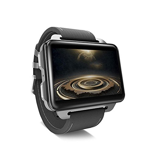 Chen0-super LEMFO LEM4 Pro-Android-Smart-Uhr, 2.2-Zoll-Bildschirm Smartwatch GPS-SIM-Karte 3G SmartWatch MP4 Bluetooth WiFi 1200mAh Akku 1 GB + 16 GB Watch Phone für iPhone und Android-Handy 1 Gb Mp4 Watch