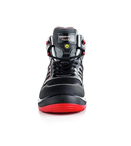 Sport Plus S3 Flexitec ESD-Sicherheitsstiefel Noir - Noir