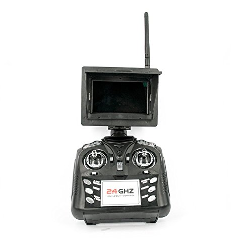 JXD 509G Pioneer Ufo Drohne Mini Typhoon ( Clone) mit 5,8Ghz FPV Monitor 2 Megapixel Kamera Höhen Stabilisator Quadrokopter - 5