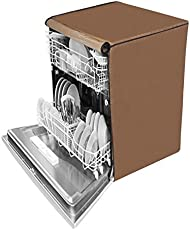 Dream Care Beige Waterproof Dishwasher Cover For Bosch Sms40E32Eu 12 Place Setting Dishwasher