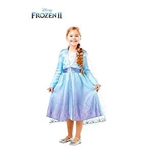 Frozen 2 Classic - Costume Elsa Travel, S (3-4 anni), multicolore 11 spesavip