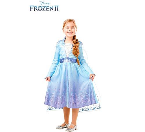 Frozen 2 Classic - Costume Elsa Travel, S (3-4 anni), multicolore 1 spesavip