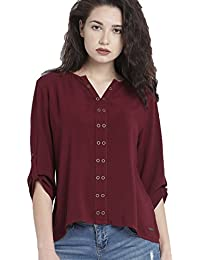 Vrati Fashion Women's Plain Regular Fit Top(D NO-84-1)