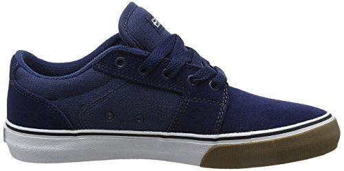 Etnies Barge LS Herren Skateboardschuhe Blue (Blue/White/Gum)