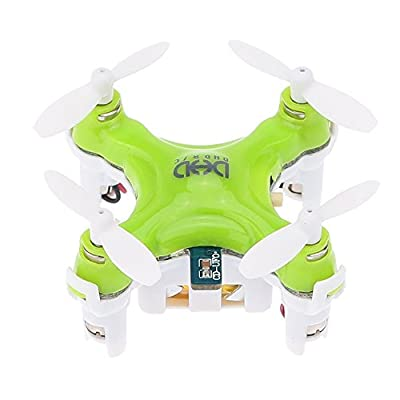 Dewang 3D Rollover Headless Mode DHD D1 Drone RTF Ready-To-Fly R/C Model Aircraft 6-Axis Gyro Smallest Helicopter with 2.4GHz Wireless Remote Control Drone Quadcopter Toy for Kids Indoor Flying