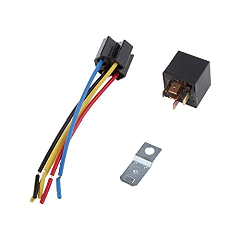 MagiDeal 12v 30 / 20a Auto Motor Relaissockel Relais Sockel