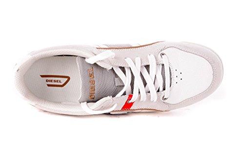 Diesel Scarpe da Tennis da Uomo Magnum Quayle Bianco